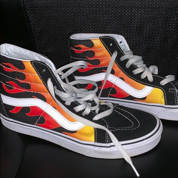 Vans Fire High Top Hot Sale, UP TO 66% OFF